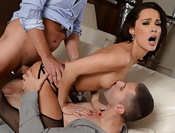 Perky titted Nikita Bellucci gets Double-penetrated