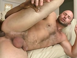 Sexy guy likes this monster pecker unfathomable in his gazoo