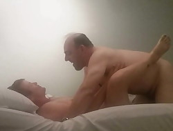 MILF getting her pussy ate out &, pussy pounded by a immense dick