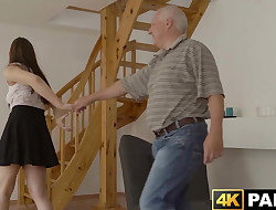 Redhead babe cheats on beau with his big dick
