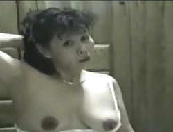 Japanese Amateur old duo night life
