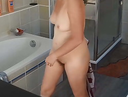 My wife bare this morning 3 - hidden cam