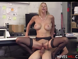 Hot Big Tits Cheating Wifey Alexis Fawx Sex With New Hire