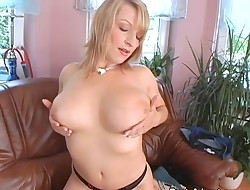 Ultra-kinky chick is glorifying her large mambos with wicked mashing